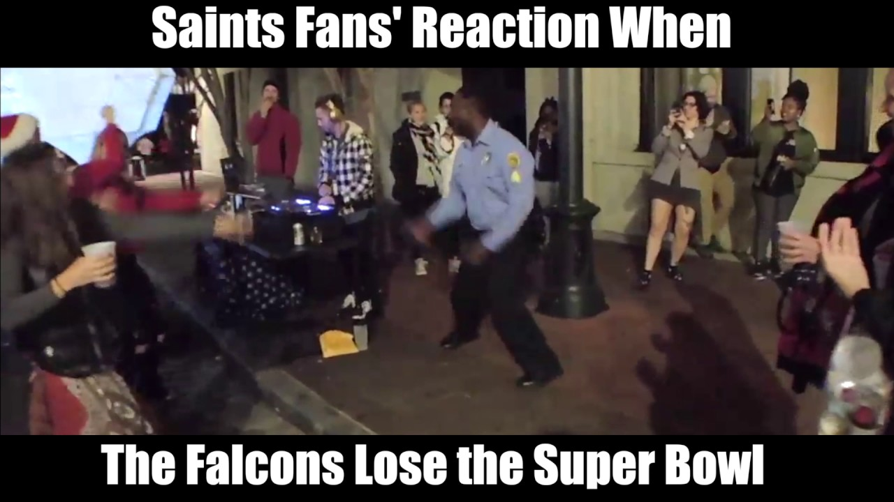 maxresdefault when the falcons lose the super bowl saints fans' reaction youtube