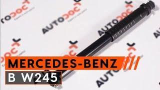 Hvordan bytte bak støtdemper på MERCEDES-BENZ B W245 [BRUKSANVISNING AUTODOC]