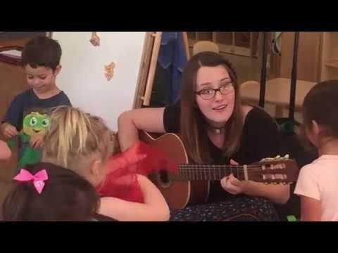 Toddler Music Class at Greensboro Montessori School