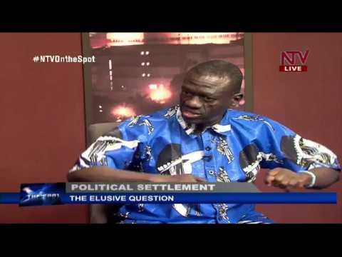 On The Spot: Kizza Besigye on the issue of attaining a political settlement in Uganda