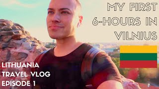 🇱🇹 LITHUANIA TRAVEL GUIDE/VLOG 2019 | Vilnius First Impressions + City/Sunset Views | EPISODE 1