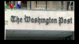Can Jeff Bezos Save The Washington Post? (VOA On Assignment Aug 23)