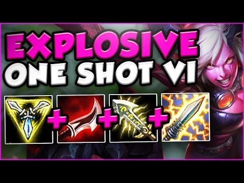WTF?! ONE VI COMBO DOES HOW MUCH DAMAGE?? NEW EXPLOSIVE VI SEASON 8 TOP GAMEPLAY! League of Legends
