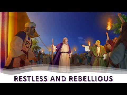 Q3. Lesson 2.  Restless and Rebellious ︱Telugu Sabbath School Lesson Study