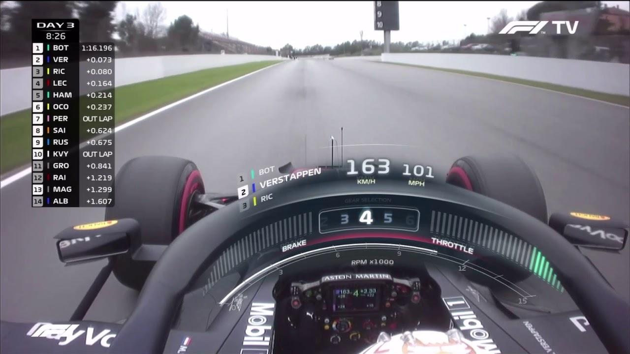 Max Verstappen Onboard Action Catalunya 2020 Youtube