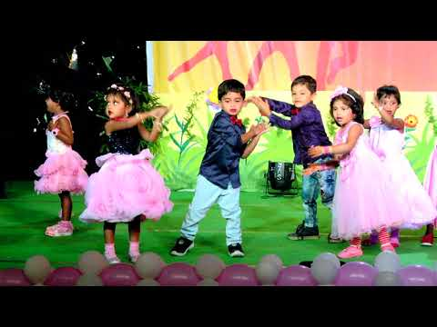 PRE-KG song - ANNUAL DAY (01-04-2018)... Stpauls school and St.Paul's CRAYONS... Rajamahendravaram