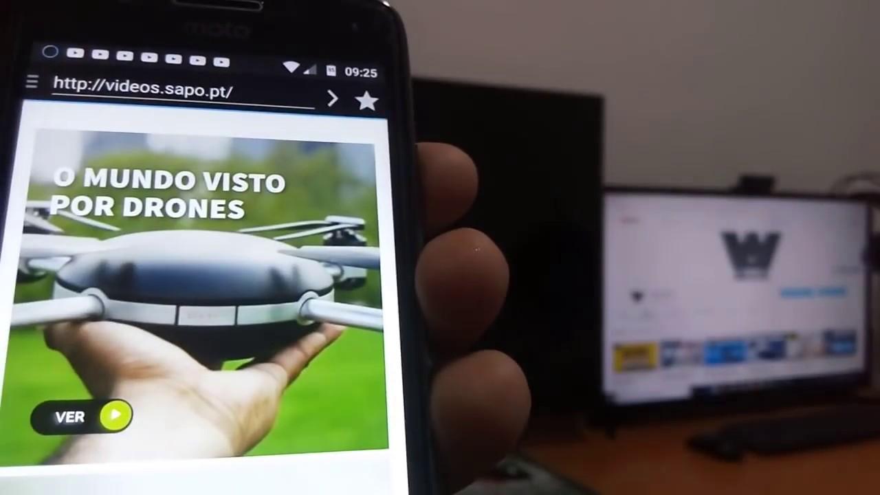 Dica de Aplicativo: Espelhando vídeos de Sites Online | Celular Android  Para Smart TV