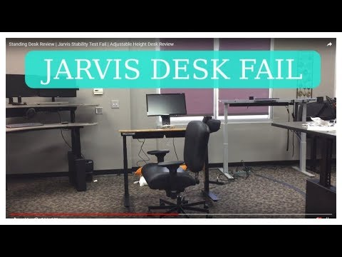 Standing Desk Review Jarvis Stability Test Fail