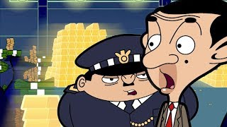 The Money Run | Full Episodes | Mr Bean Cartoon World