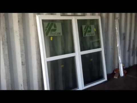 ply gem windows color ply gem window mulbar installation youtube