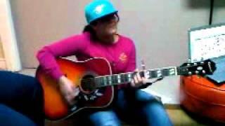 vanessa singing overboard by justin bieber