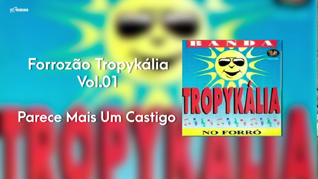 cd forrozao tropykalia vol 1