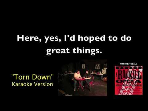 Torn Down Karaoke Video from A Roadkill Opera