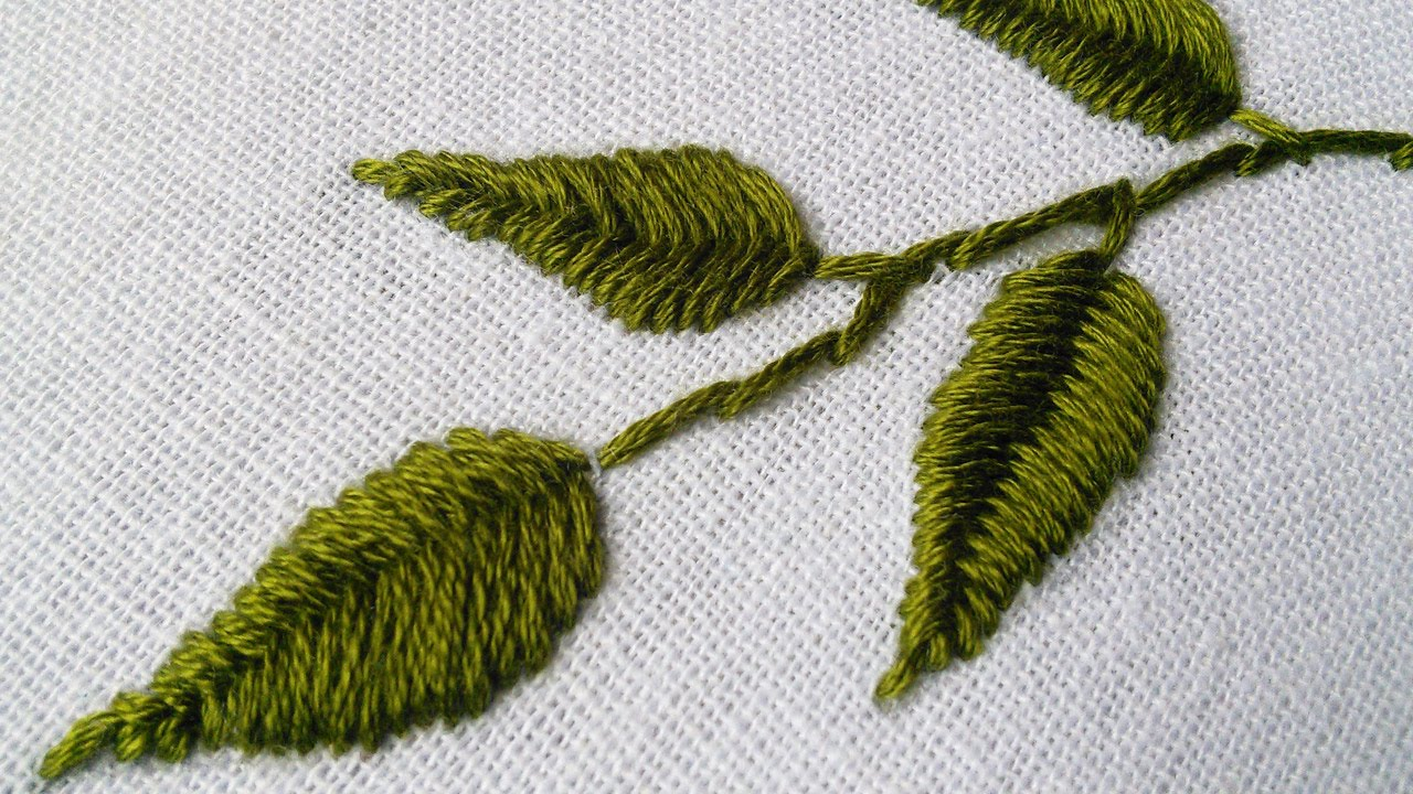 Thread Painting By Hand Tutorial