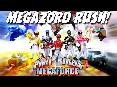 Power Rangers Megaforce: MEGAZORD RUSH –  com os Zords!