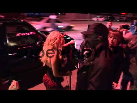 Chanel West Coast As A Sexy Devil Entering Hooray Henry's...
