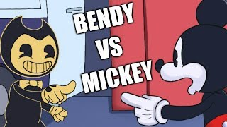 Bendy vs Mickey - Meme Makeover - That One Cat
