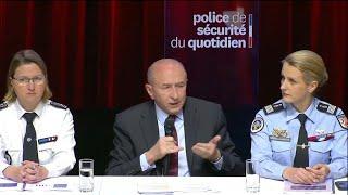 Gérard Collomb annonce la création de 10.000 postes de policiers et gendarmes