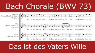 Bach - Das ist des Vaters Wille (Chorale)