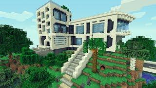 Minecraft casas videos minecraft casas clips for Mirote y blancana casa moderna