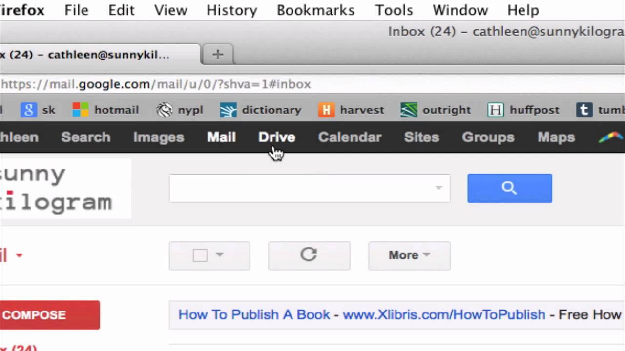 How Can I Move a Document From Microsoft Word to Gmail? : Tumblr & Other  Social Media