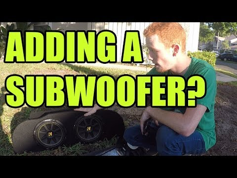 How to Wire an Amplifier for Subwoofers in an Infiniti G35