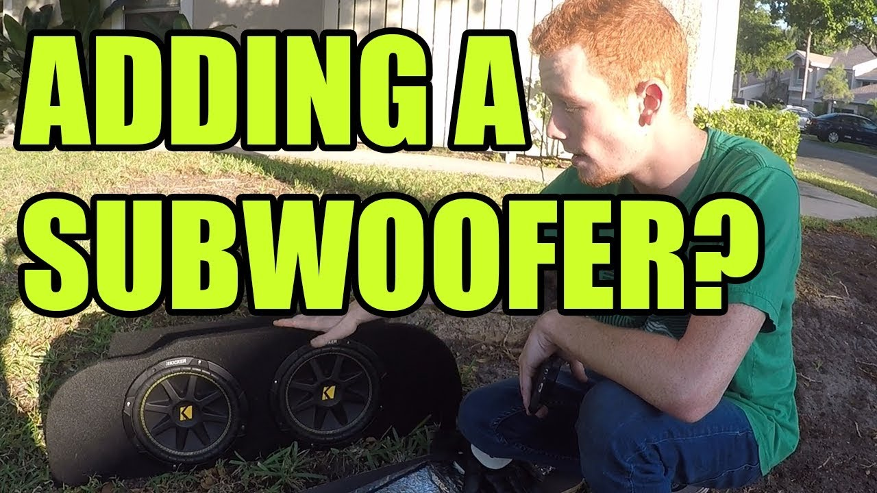 medium resolution of how to wire an amplifier for subwoofers in an infiniti g35