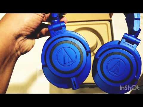 Audio-Technica ATH-M50x BLUE/BLACK LIMITED EDITION-Black Friday Discount