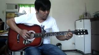 Michael Buble HOME instrumental guitar cover.