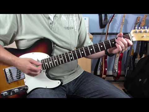 Knock On Wood -  Rhythm GuitarTutorial