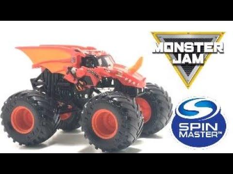 #Spinmaster #MonsterJam #Mix05 Spin Master Monster Jam Mix 05 Bakugan Dragonoid Review
