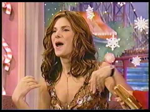 Sandra Bullock on Rosie Show Interview