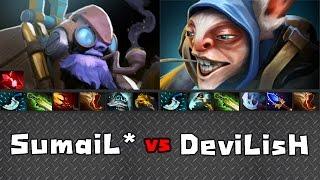 Sumail Tinker vs DeviLisH Meepo - Ranked Dota 2