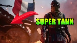 Super Heavy Tank Confirmed! They Shall Not Pass Teaser   Battlefield 1