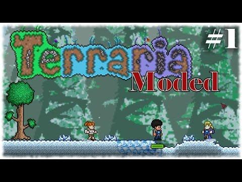 Terraria Modded =Ep 1= Adventure Awaits!