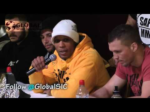 UCMMA 32 pre event press conference **FULL** 1/2/2013