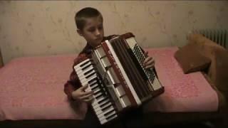 парень с гармошкой 1я партия Свиридов аккордеон