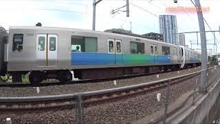 西武鉄道車輛側面観察 ラッピング電車