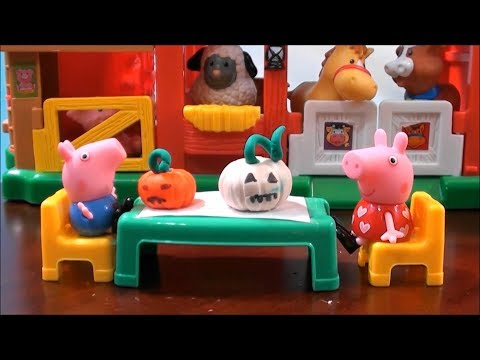 Peppa Pig: Pepa Pig Halloween Adventures with Peppa House Decorating and Peppa Pig Costume Parade