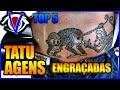 VEJAMOS TOP 5 : Tatuagens mais ENGRAÇADAS e BIZARRAS do mundo!