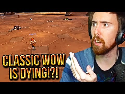 Asmongold Reacts To Classic WoW Servers Dying - The Flamelash Crisis - Punkrat