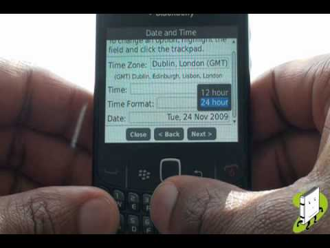 Set up Tutorial | BlackBerry Curve 8520 | The Human Manual