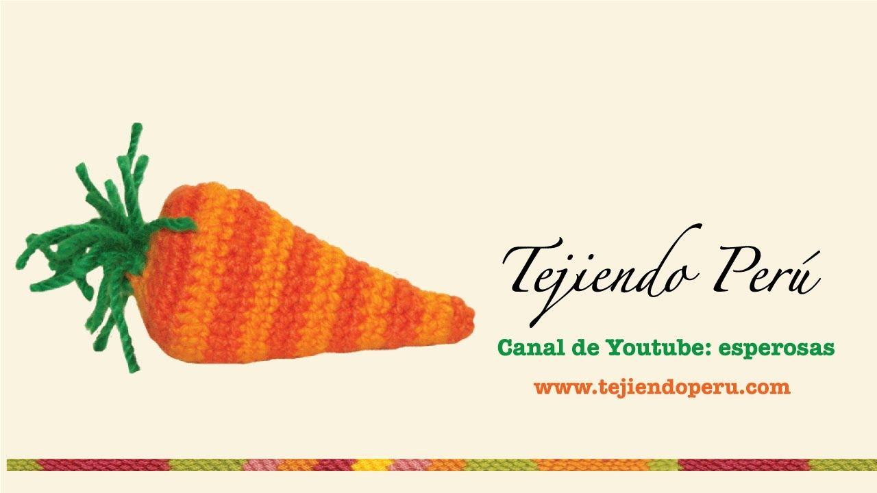 Zanahorias de Pascua (easter carrots) tejidas en crochet (amigurumi ...