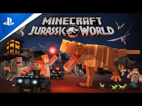 『Minecraft ジュラシック・ワールド』 ローンチトレーラー