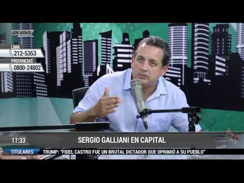 SOBRE EL TAPETE ENTREVISTA - SERGIO GALLIANI