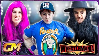 WWE WrestleMania Superstars In Our House !! - Gorgeous Movies