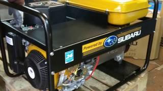видео Бензиновый генератор Energo EB 7.0/400-SE с АВР