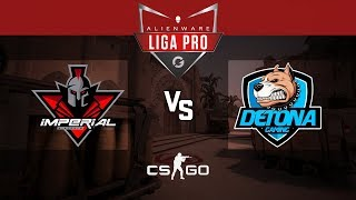 Alienware Liga Pro Gamers Club SET/18 - Imperial vs DETONA (Mirage) - Parte 1