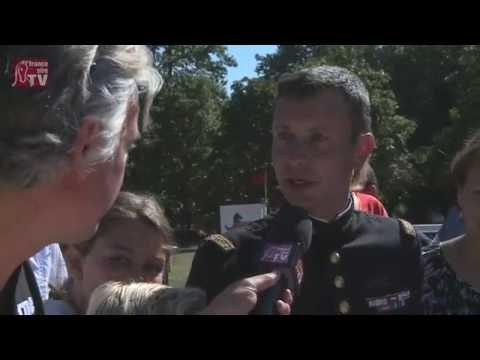 La Patrouille de France à l'ENE de Saumur pour Thibaut Vallette, médaille d'or aux JO de Rio