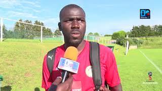"""Kalidou Koulibaly : """"On doit y aller avec la sérénité qu'il faut. Montrer nos qualité"""
